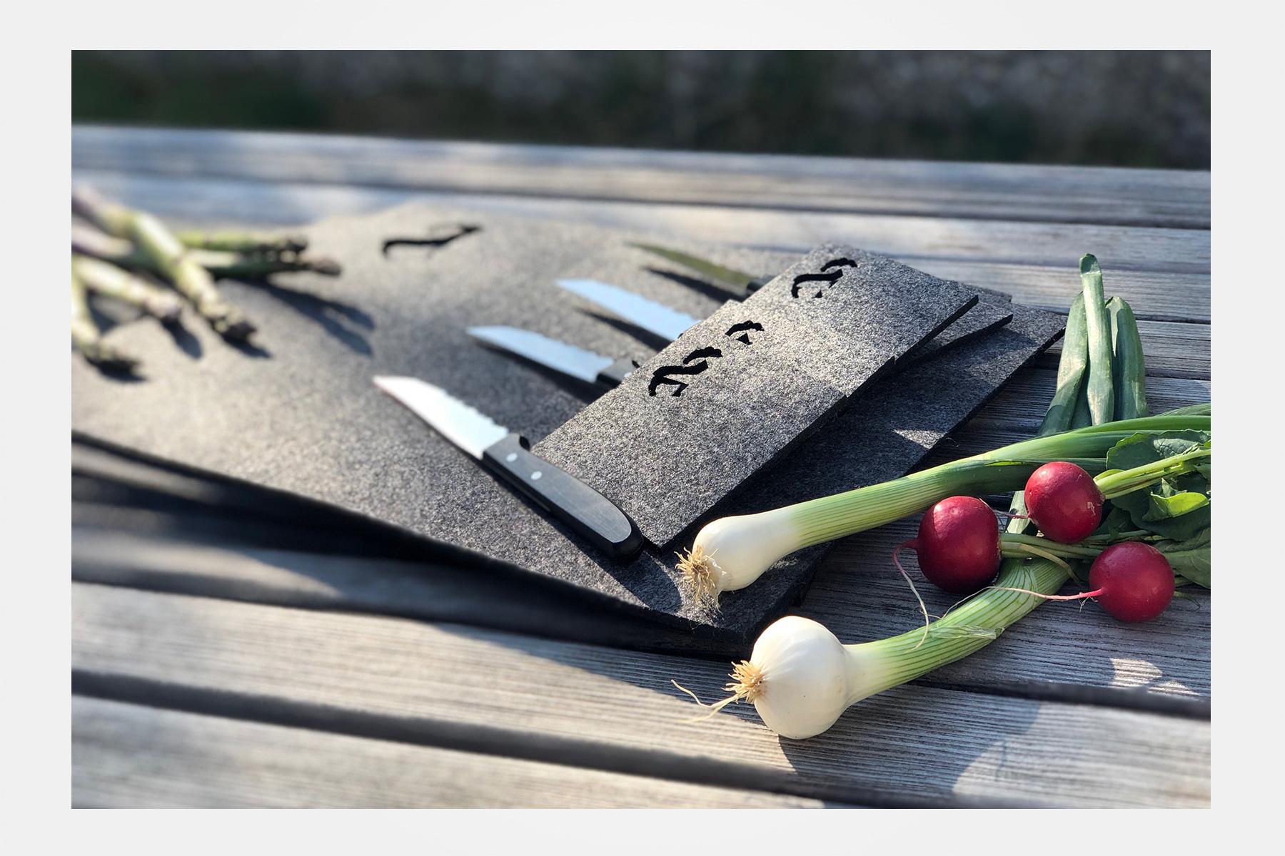 Set da tavola steinlin con 4 coltelli da bistecca best of switzerland monte coltello - Coltelli da tavola montana ...